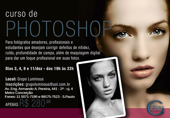 Banner Curso Photoshop Luminous